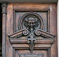 157 Casa Balsach (Sabadell), detall de la porta.jpg