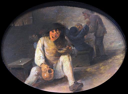 1633 Brouwer Drunken Peasant anagoria