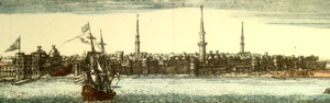 Timeline of Tripoli - View of Tripoli in Barbary, 1675