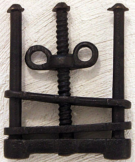 Thumbscrew (torture)