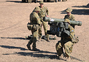 16th Air Land Regiment, Royal Australian Artillery - A RBS-70 team in July 2011