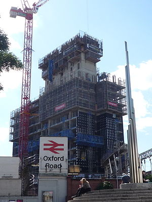 17 New Wakefield Street - Image: 17 New Wakefield Street under construction, August 2011