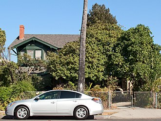 Frank M. Tyler - Julius Bierlich Residence, 1818 S. Gramercy Place, Harvard Heights, Los Angeles.