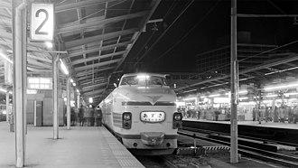 181 series - Image: 181 Azusa 8 Shinjuku 19750119