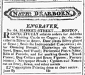 1825 NathanielDearborn Sept3 ColumbianCentinel.png