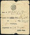 1866-07-02 Billet-Amt Langesalza, Quartier Billet John und Sahlfeld.jpg