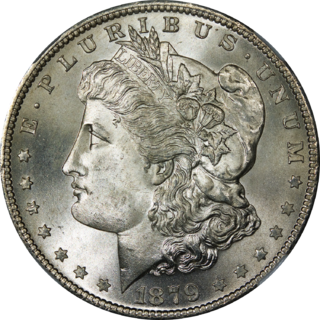 Morgan dollar U.S. dollar coin (1878-1904, 1921)