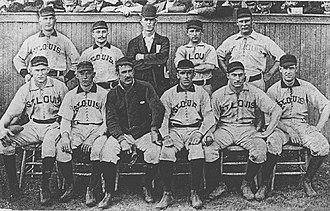 1889 St. Louis Browns season - The 1889 St. Louis Browns