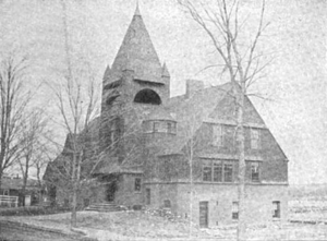 Littleton, Massachusetts - Reuben Hoar public library, Littleton, 1891