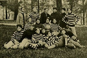 1897 Maryland Aggies football team - Image: 1897 Maryland football team