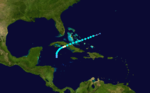 1906 Atlantic hurricane 11 track.png