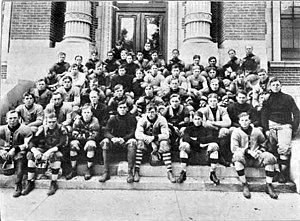 1907 Nebraska Cornhuskers football team - Image: 1907 Nebraska Cornhuskers football team