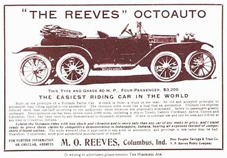 Milton Reeves - Image: 1911 Reeves Octoauto