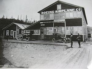 Boeing Plant 1 - 1917-era Boeing Plant 1