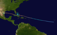 1933 Atlantic hurricane 10 track.png
