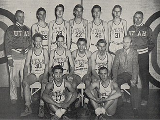 Utah Utes men's basketball - The Utes' 1944 national championship team.