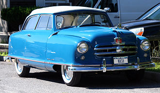 Compact car - 1952 Nash Rambler 2-door station wagon