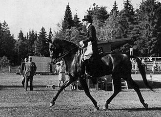 Lis Hartel - Image: 1952OG Lis Hartel Jubilee