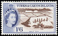 1957 Stamp of the Turks and Caicos Islands.jpg