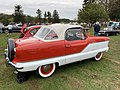 1960 Metropolitan convertible in red and white at 2019 AACA Hershey show 2of2.jpg