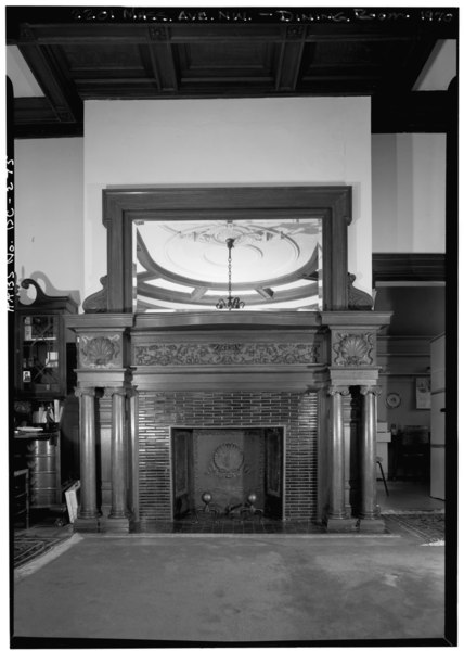 File 1970 mirrored mantelpiece dining room fireplace for Dining room d house of commons