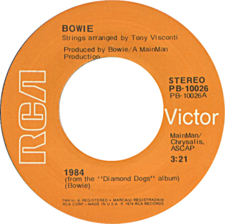 1984 (song) song by David Bowie