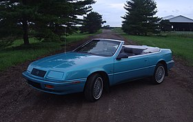 Chrysler lebaron wikipedia 1992 chrysler lebaron gtcg sciox Image collections
