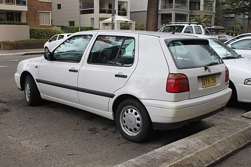 1998 Volkswagen Golf (1H) CL 5-door hatchback (22877267947)