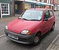 1999 Fiat Seicento Mia Front.jpg