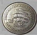 1 песо. Куба. 1984 Сантисима-Тринидад.jpg