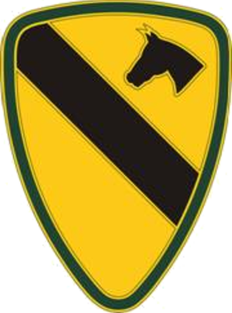 1st Cavalry Division (United States) - The 1st Cavalry Division's combat service identification badge (CSIB)
