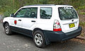 2005-2008 Subaru Forester X wagon, National Parks and Wildlife Service (2009-12-20) 02.jpg