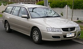 2006 Holden Commodore (VZ MY07) Acclaim station wagon (2015-07-03) 01.jpg