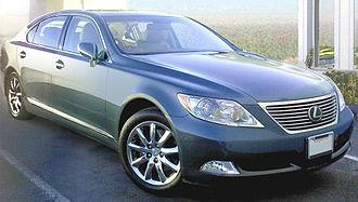 Lexus LS (XF40) - 2006–2009 Lexus LS 460 L (USF41; U.S.)