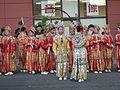 2008 Seattle Chinatown Seafair Parade - drill team stand in review 07.jpg