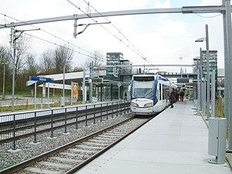 Palenstein RandstadRail station - Image: 2008 Station Palenstein (1)