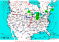 2009-01-17 Surface Weather Map NOAA.png
