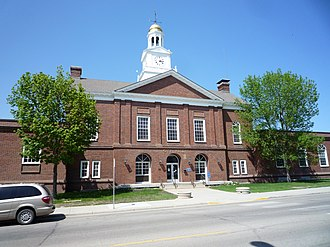 Fergus Falls, Minnesota - Fergus Falls Town Hall, modeled after Philadelphia's Independence Hall