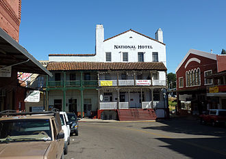 Jackson, California - Historic downtown Jackson
