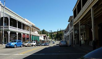 Sutter Creek, California - Old Route 49
