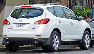 Nissan Murano - Before facelift