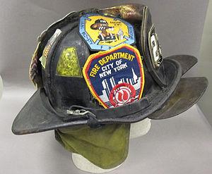 2011-191-2 Helmet, Fireman, Fire Department New York, Side (2).jpg