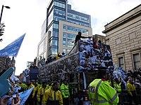 Parade juara Piala FA 2011