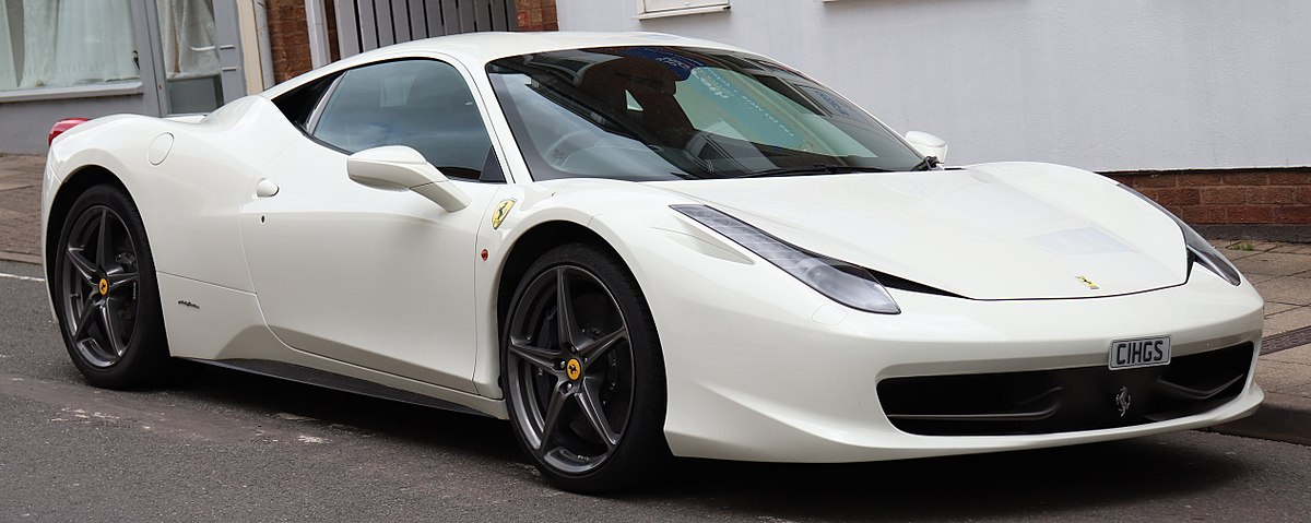 Transmission For Sale >> Ferrari 458 - Wikipedia