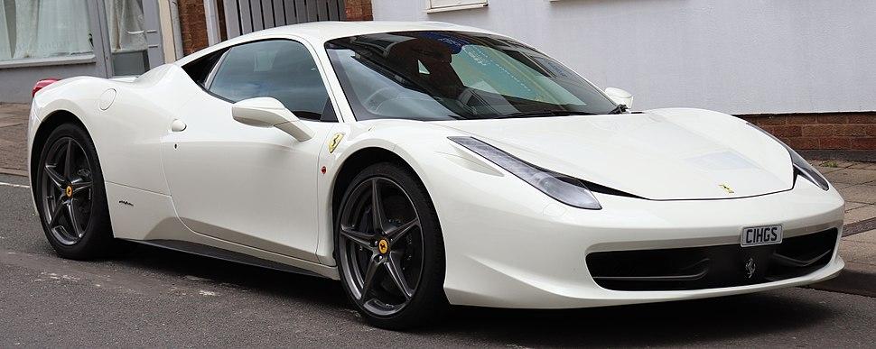 2011 Ferrari 458 Italia DCT S-A 4.5 Front