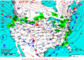 2012-01-18 Surface Weather Map NOAA.png