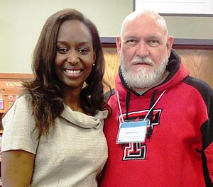 Lipscomb University - Renowned speakers come annually to Lipscomb: Immaculée Ilibagiza (left), survivor of the Rwandan Genocide, at the Christian Scholars' Conference in 2012.