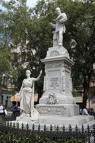 Francisco de Albear - Statue of Francisco de Albear by Cuban sculptor José Vilalta Saavedra in Havana
