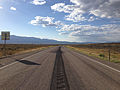 2014-08-09 17 51 15 View west along U.S. Routes 6 and 50 and north along U.S. Route 93 about 54.3 miles east of the Nye County line in White Pine County, Nevada.JPG