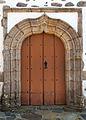 2014. Porta na igrexa de Santo André de Teixido. Cedeira. Galiza. Tx08.jpg